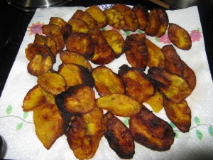 Crispy, Chewy Delicious Sweet Fried Plantains