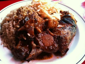 """Jerk Chicken and Oxt-Tail Dinner"" by sifu renka. http://www.flickr.com/photos/sifu_renka/4609470412/"