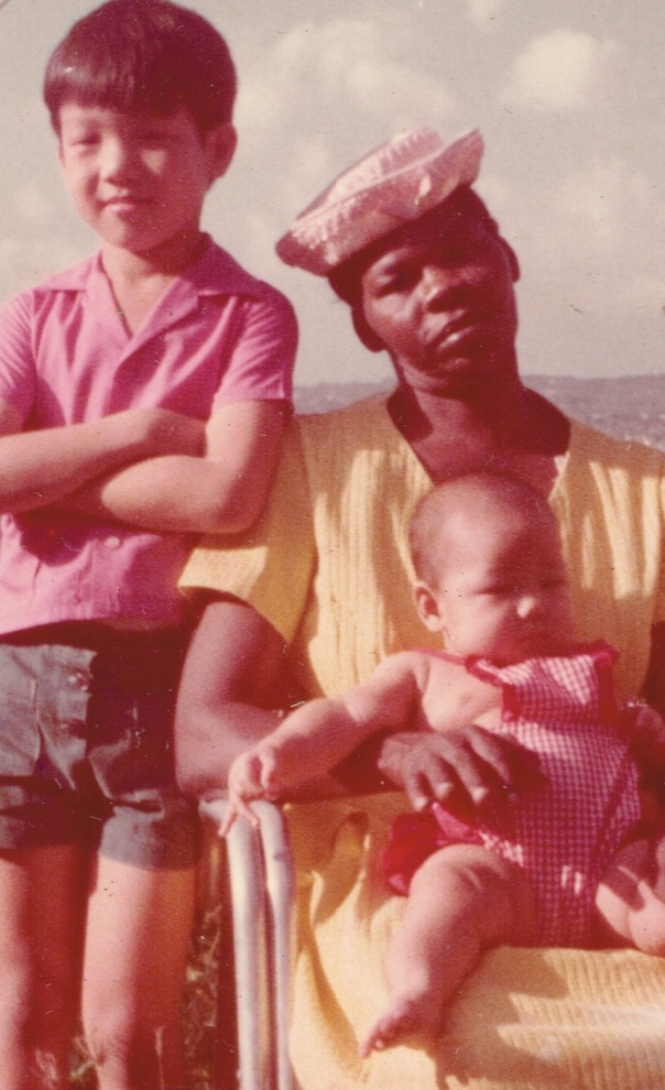 My brother, Nursy and me.